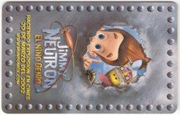 VENEZUELA B-743 Chip CanTV - Cinema, Comics, Jimmy Neutron - Used - Venezuela