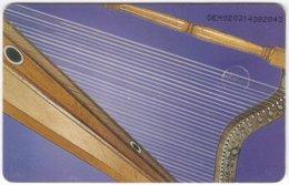 VENEZUELA B-746 Chip CanTV - Culture, Music Instrument - Used - Venezuela