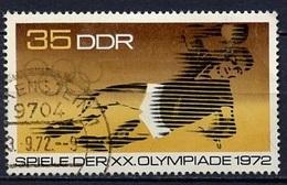 JO Munich 1972 Allemagne Démocratique - Germany - Deutschland Y&T N°1444 - Michel N°1757 (o) - 35p Handball - Summer 1972: Munich