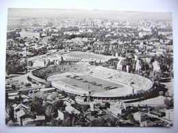 Yugoslavia: Serbia BEOGRAD Belgrade Stadium Yugoslavia People's Army Aerial View Posted 1966 - Jugoslawien