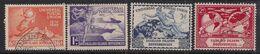 Falkland Islands Depend 1949 KGV1 Set Postal Union UPU Used SG G21 - G24 ( A1289 ) - Falklandinseln