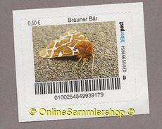 BRD - Privatpost - Biberpost -Tiere - Insekten - Brauner Bär (Arctia Caja) - Butterflies