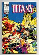 Comics Titans N°174 Warlock - Les Vengeurs De La Côte Ouest - Excalibur De 1993 - Titans