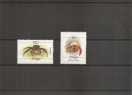 Crustacés ( 584/585 XXX -MNH- De Tonga) - Crostacei