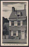 Postcard - USA - Circa 1940 - Betsy Ross House - Arch Street - Non Circulee - A1RR2 - Philadelphia