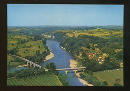 (24) : Vue Générale Panoramique Avec Le Confluent De La Vézère Et De La Dordogne - Francia