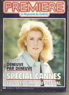 PREMIERE Magazine Du Cinéma SPECIAL CANNES 1986 -  EXCLUSIF Catherine Deneuve - Film