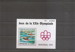 Jo De Montréal -1976 ( BF 32 XXX -MNH- De Guinée) - Estate 1976: Montreal