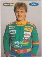 Johnny Herbert-  Benetton Fomula 1(D.8302 ) - Grand Prix / F1