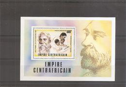 Prix Nobel - Littérature - Tagore ( BF 13 XXX -MNH- De Centrafricaine) - Nobel Prize Laureates