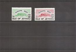 Europa 1962 ( 2 Timbres Privés XXX -MNH- De Jethou) - Europa-CEPT