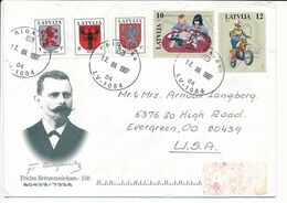 Cover Abroad / Coat Of Arms, Children's Play - 12 September 1997 Riga-84 - Letonia