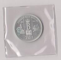 BELGIQUE - 250 FRANCS ARGENT- 20 ANS FONDATION ROI BAUDOUIN Ier - 1996 -FRAPPE MONNAIE--FDC - 1993-...: Albert II