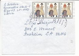 Cover Abroad / Traditional Costumes - 24 December 1993 Riga-51 - Letonia