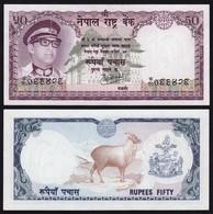 Nepal - 50 Rupees Banknote 1974 Pick 25 Sig. 9 UNC (1)  (16165 - Bankbiljetten