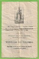Alicante - Orihúela - Virgem Do Carmo - Declaração De Promessa - España - Vecchi Documenti