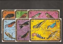 Burundi - Oiseaux ( PA 154/177 Oblitérés) - 1970-79: Gebraucht