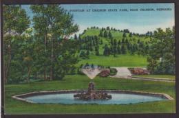 Postcard - USA - Circa 1940 - Chadron - Fountain At Chadron State Park - Non Circulee - A1RR2 - Autres