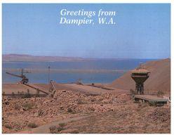 (H 6) Australia - WA - Dampier (with Stamp) - Australien