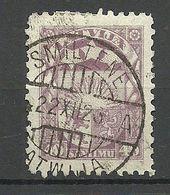 LETTLAND Latvia 1923 Michel 96 O SMILTENE - Letonia