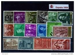 España 1959. Completo ** MNH. - Full Years