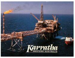 (H 6) Australia - WA - Kerratha Natural Gas Drilling - Geraldton