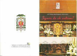 DIOCESI DI ACQUI TERME LETTERA PASTORALE 2020 - 2021  OPUSCOLO - Religione & Esoterismo