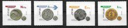 Portugal 2020 , Numismatica Portuguesa - Antike Münzen - Selbstklebend - Postfrisch / MNH / (**) - Unused Stamps