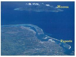 (H 7) Tonga To Australia (with Stamp) Papeete With Mooroa Island (France - Tahiti) - Tonga