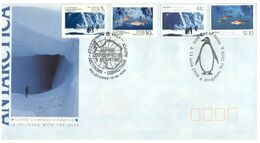 (H 8) Australia & Russia Joint Issue - AAT - 1990 - FDC