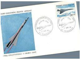 (H 8) Concorde Project Aircraft - 1969 - Concorde