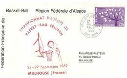 (H 8) EUROPA CEPT - 1962 - France - Basket-Ball Féminin Championnat - Basketball