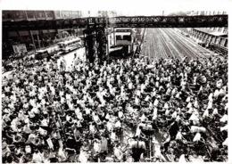 CHINE Train Station Crossing 2(scan Recto-verso) MA1472 - Cina