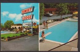 Postcard - USA - Circa 1960 - Sunset Lodge - Non Circulee - A1RR2 - Abilene
