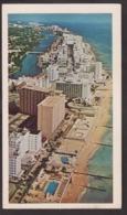 Postcard - USA - Circa 1960 - Hotel Row - Non Circulee - A1RR2 - Miami Beach