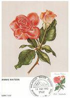 (H 9) Australia - Roses Flowers (4 Maxicard) 1982 - Roses