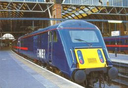 RAIL RAILROAD RAILWAY TRAIN LOCOMOTIVE GNER KING'S CROSS STATION LONDON ENGLAND UNITED KINGDOM * Top Card 1139 * Hungary - Trenes