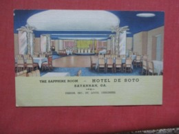 -SapphireRoom   Hotel Del Soto  Georgia > Savannah  Ref 4273 - Savannah