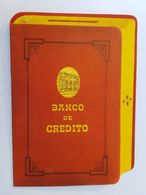 FOLLETO BANCO DE CREDITO URUGUAY, TASAS DE INTERES, PUBLICIDAD, USER INFORMATION - Pubblicitari