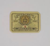 Cx13 B) Gutechein 1920 5 Pfenning 4xc.5,5cm Allemagne Germany Deutschland - [ 3] 1918-1933 : Repubblica  Di Weimar