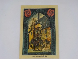 Cx13 B) Notgeld Neustadt An Der Orta 1921 10 Pfenning 8xc.5,5cm Allemagne Germany Deutschland - [ 3] 1918-1933 : Repubblica  Di Weimar