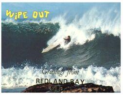 (H 10) Australia - QLD - Redland Bay Surfer (Wipe Out) - Cartoline