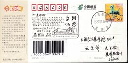 CHINA CHINE POSTCARD GUANGDONG HUIZHOU TO SHANXI CHANGZHI  WITH 复课啦! Class Is Over!  ANTI COVID-19 / VIRUS INFORMATION - Cina