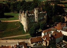 Montmirail Vue Aerienne De La Facade Et Du Chateau  CPM Ou CPSM - Montmirail