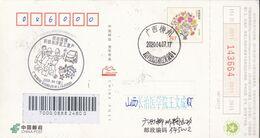 CHINA  POSTCARD GUANGXI LIUZHOU TO SHANXI CHANGZHI  WITH 复工复产 Return To Work And Production  ANTI COVID-19  INFORMATION - Cina