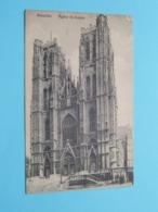 Eglise ST-GUDULE () Anno 1918 ( Zie Foto ) ! - Monumenti, Edifici