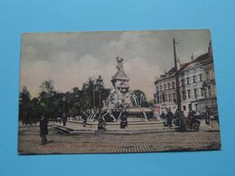 Fontaine De Brouckère ( Stamp BASS' PALE-ALE 253 ) Anno 1909 ( Zie Foto ) ! - Monumenti, Edifici