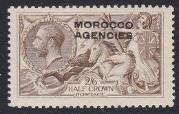 MOROCCO AGENCIES 2/6 SEAHORSE SG73 LHM - Morocco Agencies / Tangier (...-1958)