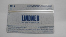 Israel-(bzp10)-lindner-(tirage-1.135)-mint Card+1card Prepiad Free - Israele