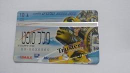 Israel-(bzp11)-mll Soft-(tirage-1.235)-mint Card+1card Prepiad Free - Israele